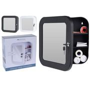 Bathroom Solutions Medicijnkastje met spiegel - zwart