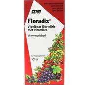 Floradix Floradix IJzer-elixir – Bij vermoeidheid – Voedingssupplement – 500 ml
