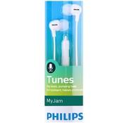 Philips SHE3555WT/00 In-ear oordopjes met microfoon wit