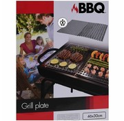 BBQ Barbecue RVS grillplaten - 2 stuks