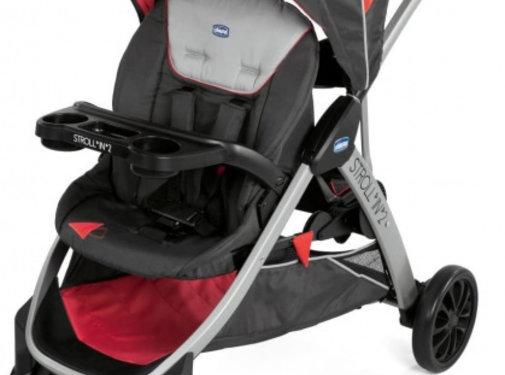 Chicco buggy Strollin' 2 polyester/aluminium zwart/rood