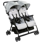Chicco buggy Double Buggy Ohlalà Twin junior 100 cm wit
