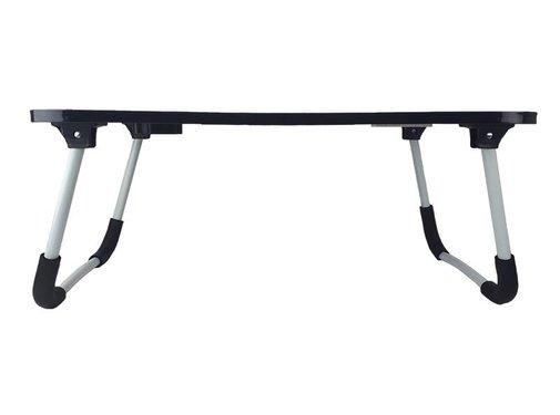 Soundlogic Laptoptafel - met USB poorten - 60 x 40 x 27 cm - grijs