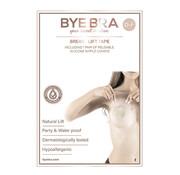 Bye Bra Bye Bra - Borst Lift & Fabric Tepel Covers D-F 1 Paar