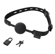 Sportsheets Sportsheets - Sincerely Locking Lace Silicone Ball Gag