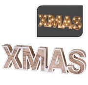 Home&Styling XMAS - houten letters - 38cm - 25 LED