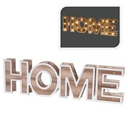 Home&Styling HOME - houten letters - 38cm - 28 LED