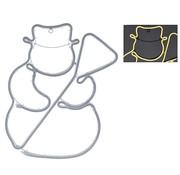 DecorativeLighting Slangverlichting sneeuwpop - 360 SMD-LED - 49cm