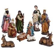 Kerstgroep 10-delig - XL - 40cm