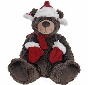 Home&Styling Pluche kerstbeer - 30cm