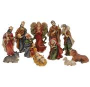 Kerststalfiguren - Kerstgroep - 11-delig