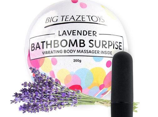 Big Teaze Toys Big Teaze Toys - Bath Bomb Surprise met Vibrerende Lichaamsmassager Lavende
