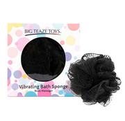 Big Teaze Toys Big Teaze Toys - Vibrerende Badspons Zwart