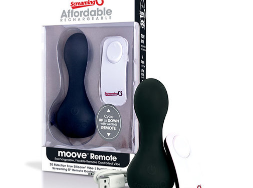 The Screaming O The Screaming O - Charged Moove Remote Control Vibe Zwart