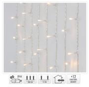 DecorativeLighting Gordijnverlichting - 240LED - 200x150cm - warm wit