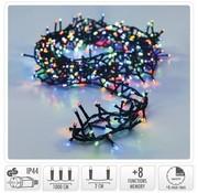 DecorativeLighting Micro Cluster met Haspel - 500 LED - 10 meter - met timer - multicolor