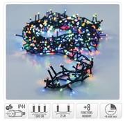 DecorativeLighting Micro Cluster met Haspel - 750 LED - 15 meter - met timer - multicolor