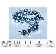 Micro Cluster met Haspel - 750 LED - 15 meter - met timer - wit
