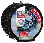 DecorativeLighting Micro Cluster met Haspel - 1250 LED - 25 meter - met timer - multicolor