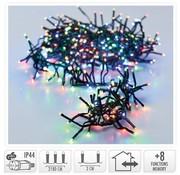 DecorativeLighting Clusterverlichting - 3000 LED - 22m - multicolor
