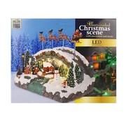Ceruzo Kerstdorp - Kerstman in Slee
