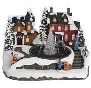 Ceruzo Kersthuisjes met Fontein