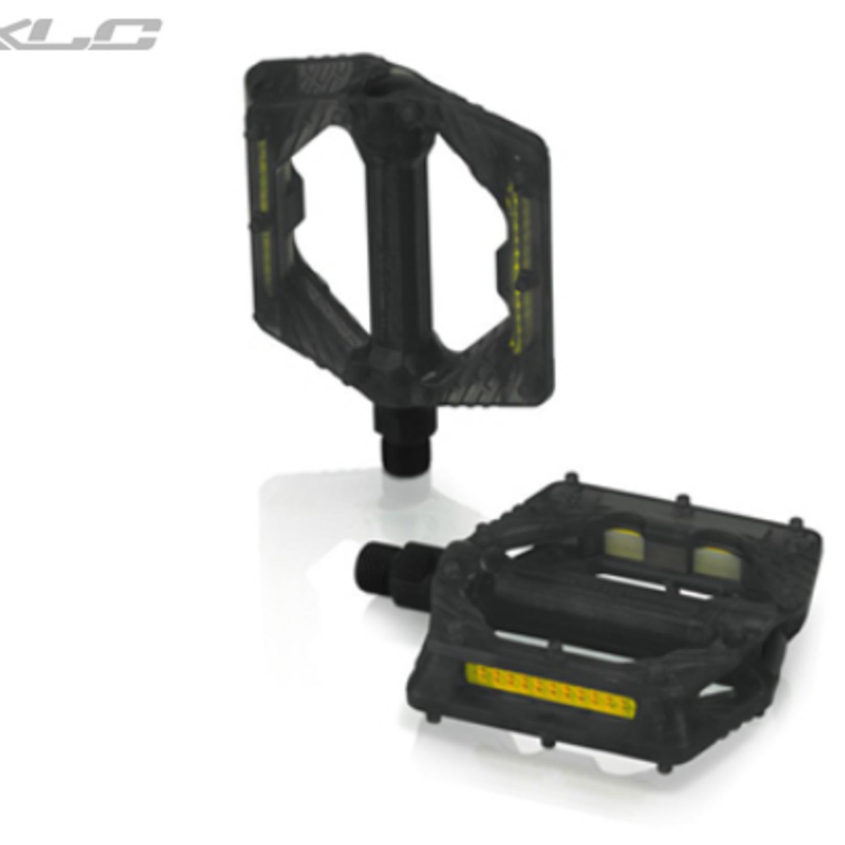 XLC XLC PLATFORM PEDAL TRANS BLACK