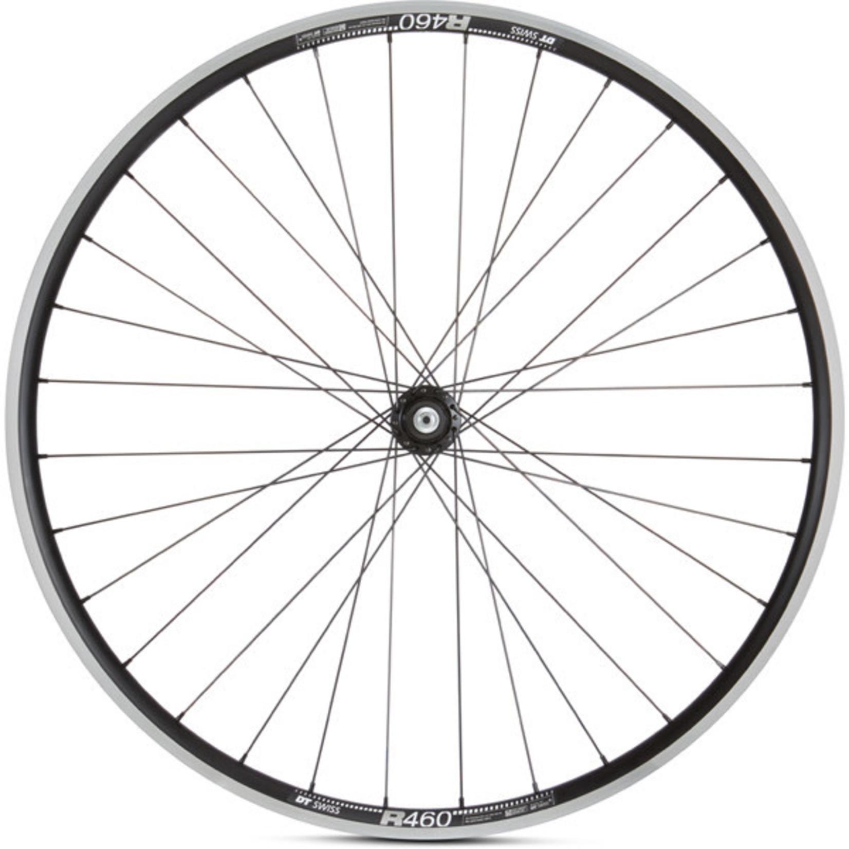 Road Rear Wheel Shimano 105 Hub DT R 460 Rim black 700c