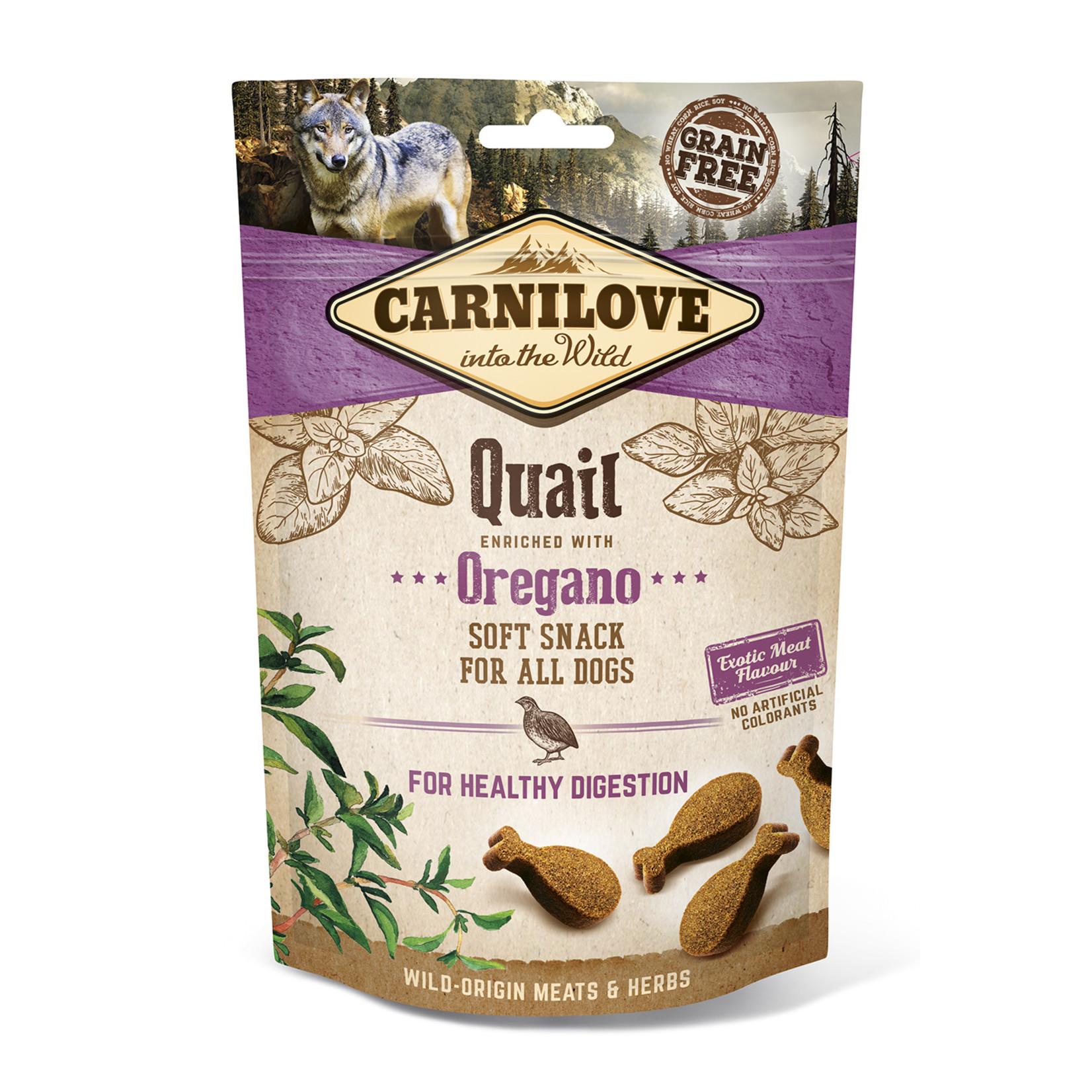 Carnilove soft snack Quail 200gr