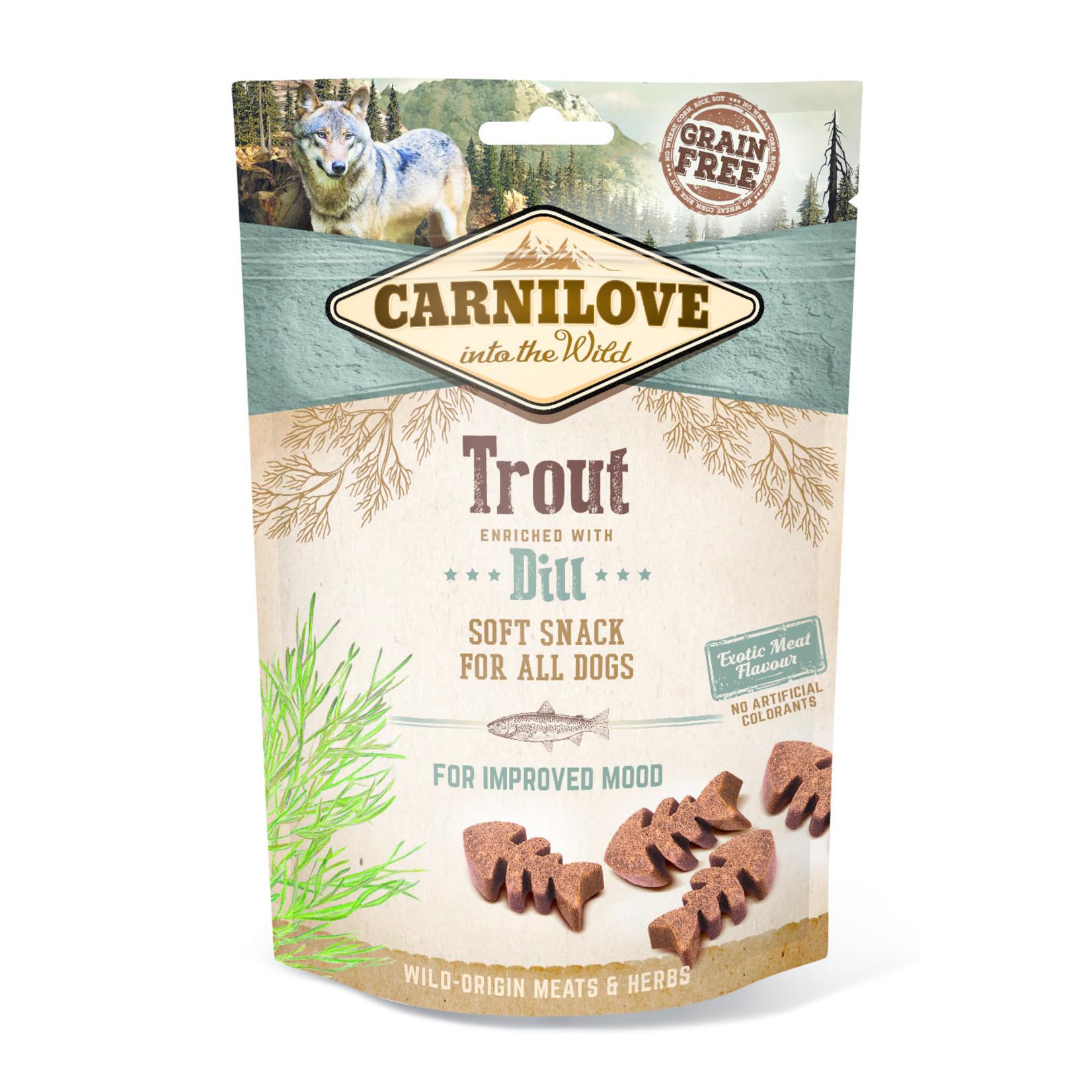 Carnilove soft snack Trout 200gr