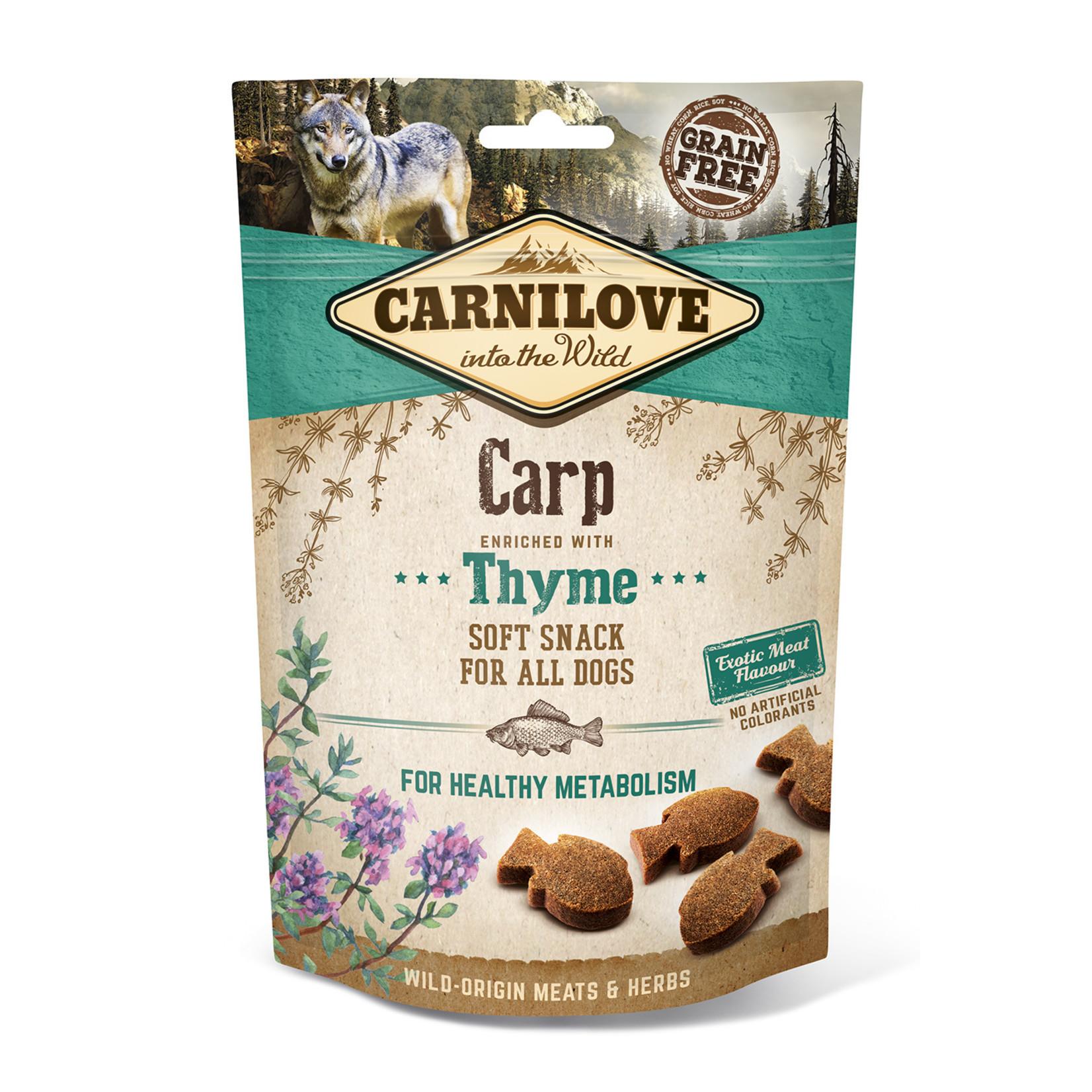 Carnilove soft snack Carp 200gr