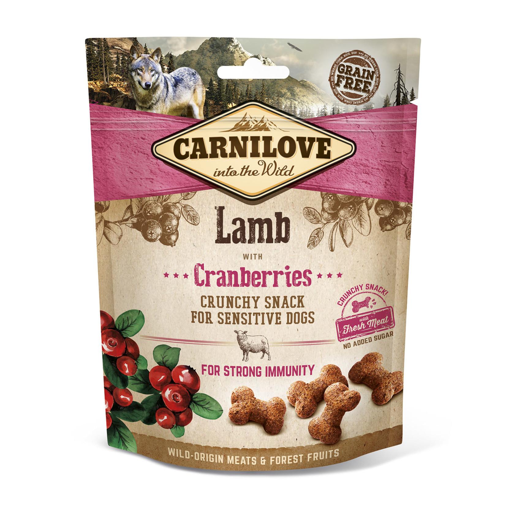 Carnilove crunchy snack lamb 200gr
