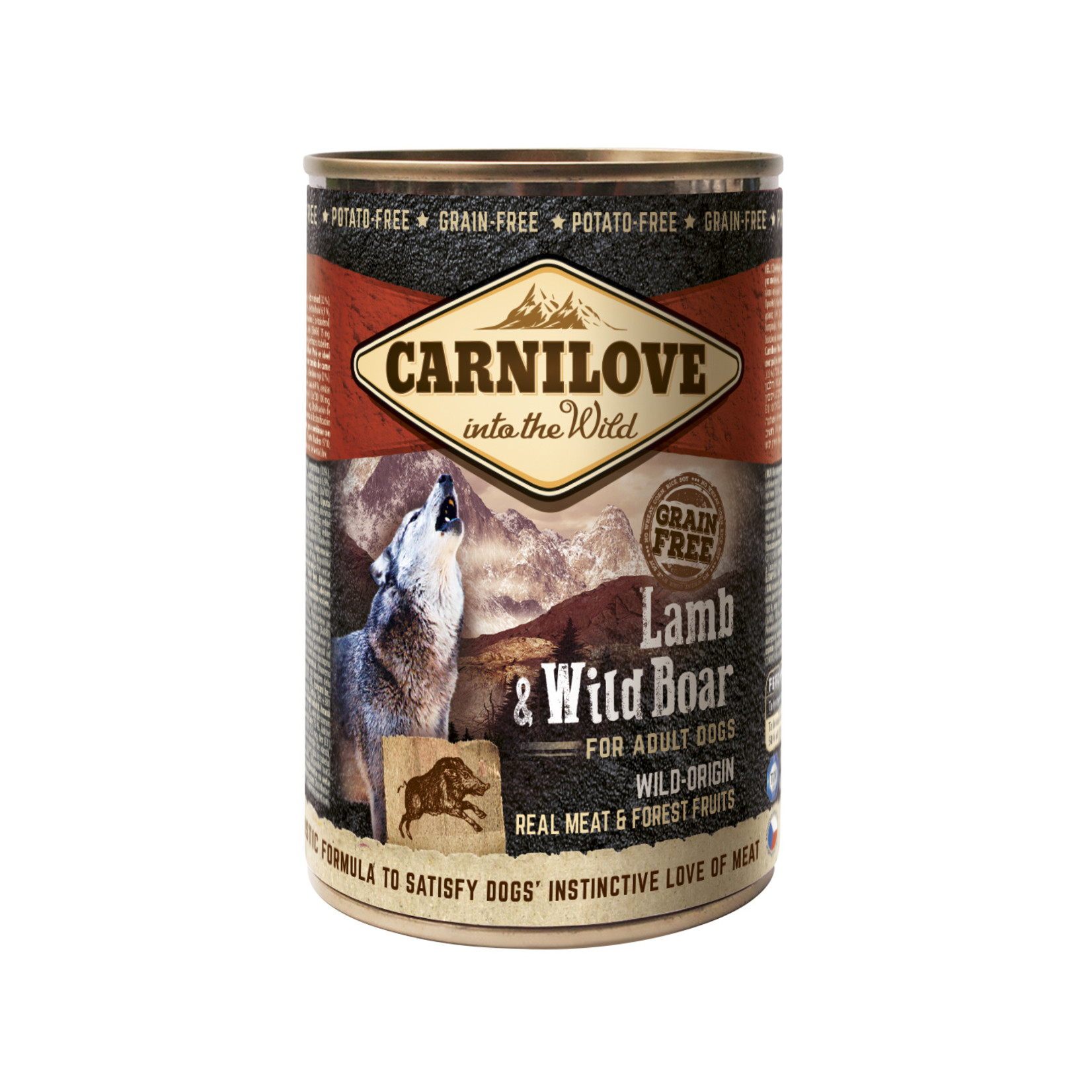 Carnilove cans Lamb and Wild Boar 400gr