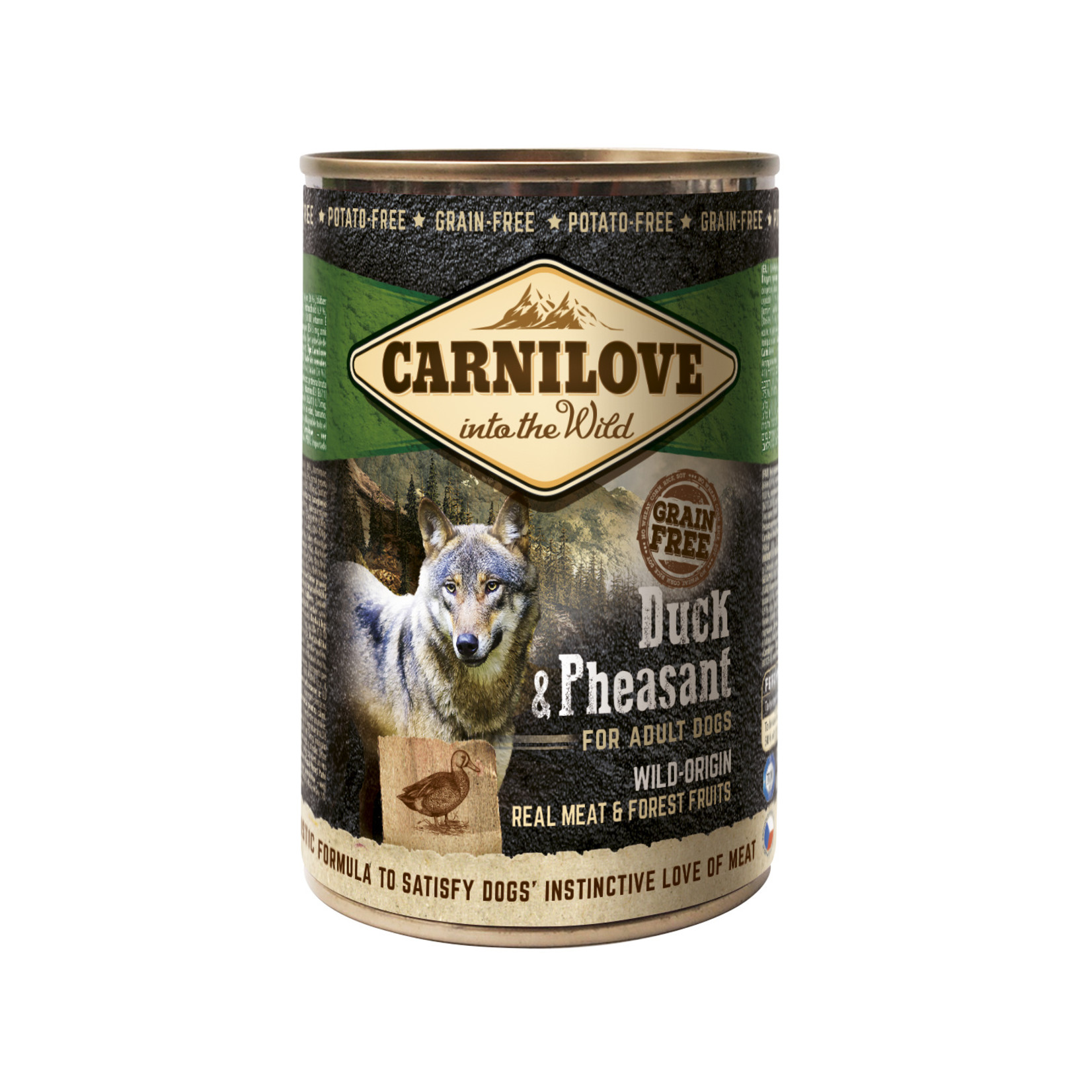 Carnilove cans Duck and Pheasant 400gr