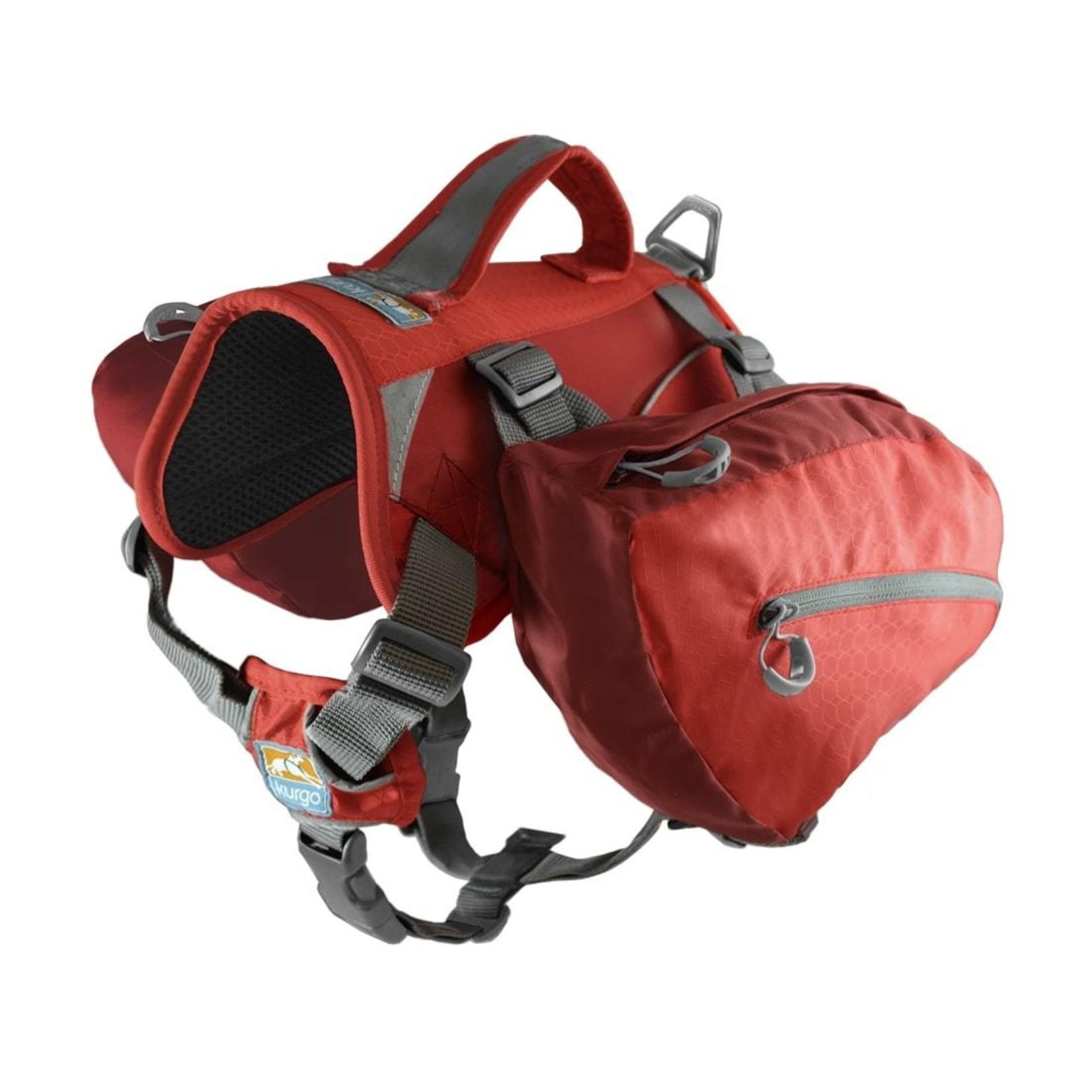 Kurgo Baxter backpack chili/barn red