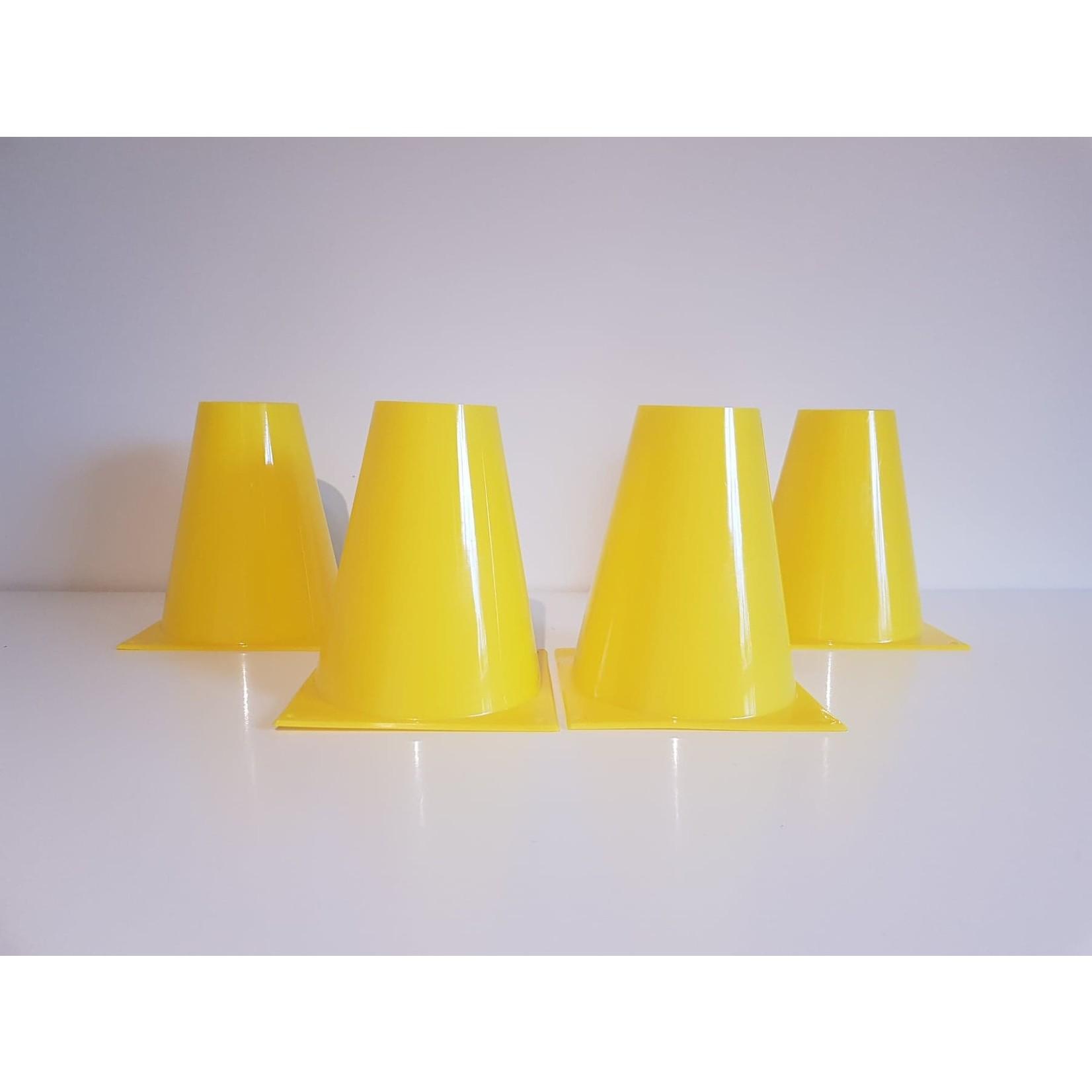 Box kegels van 15cm hoogte (set van 4)