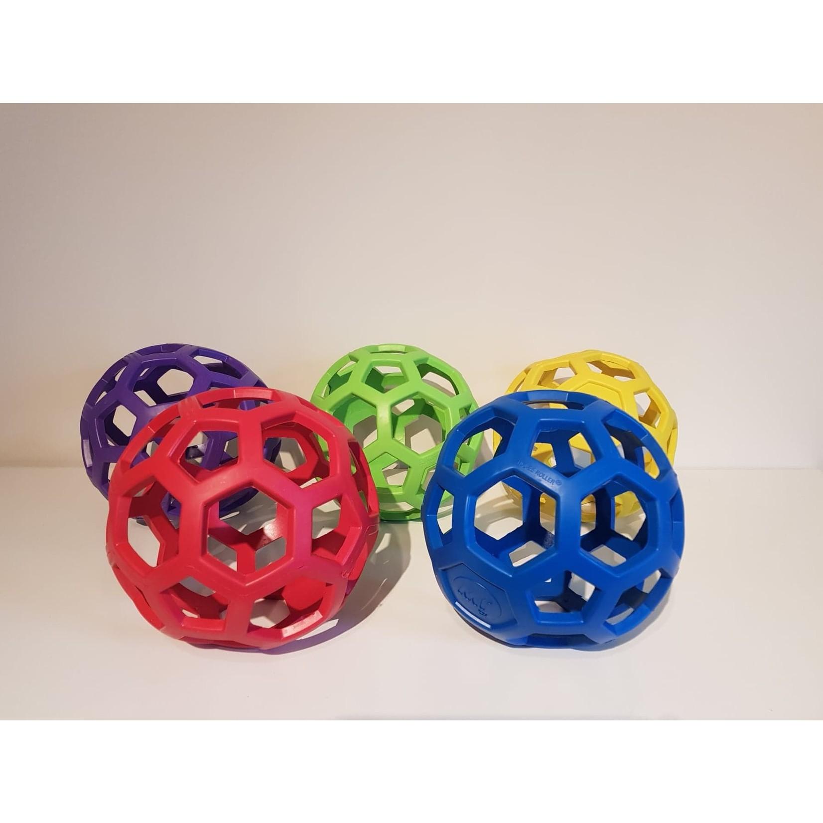 Open rubber bal
