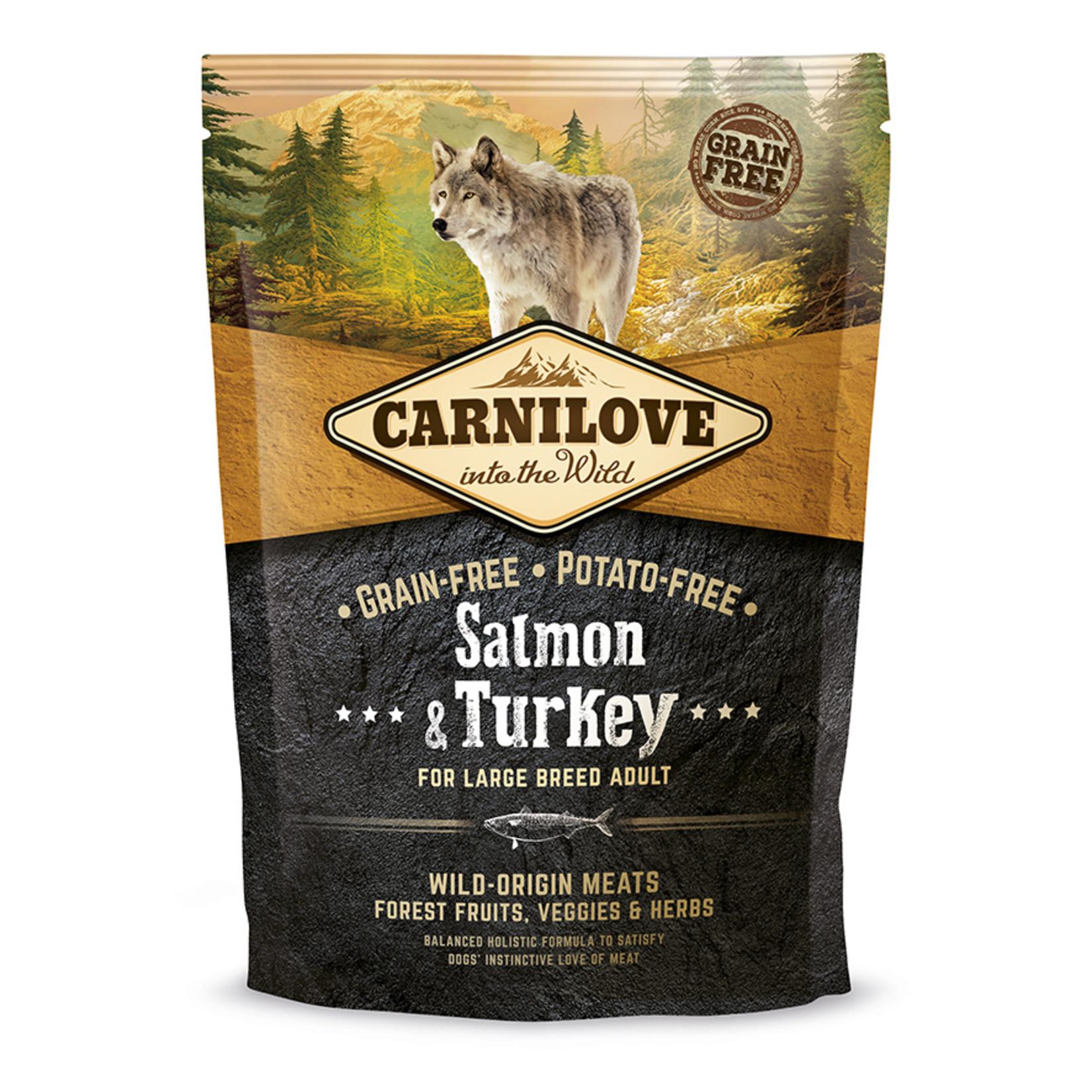 Carnilove Salmon & turkey adult