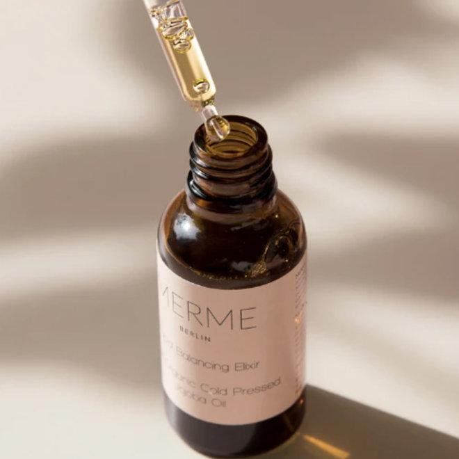 Facial Balancing Elixir - Organic Jojoba Oil - balanceert talgproductie