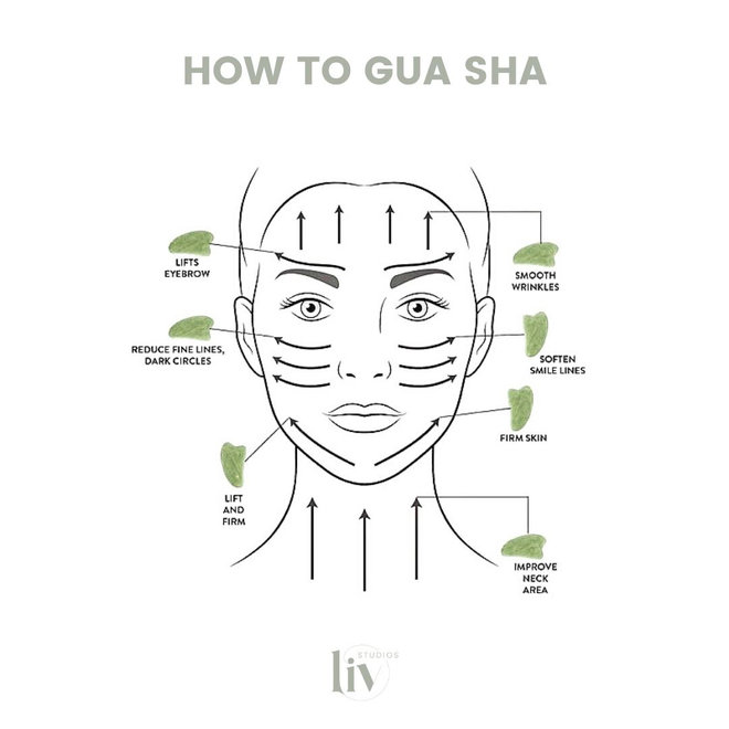 Gua Sha - Rose quartz - Contouring