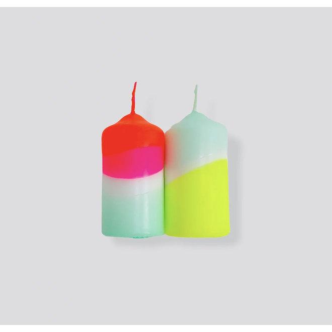 Dip Dye Neon - Rainbow Wings
