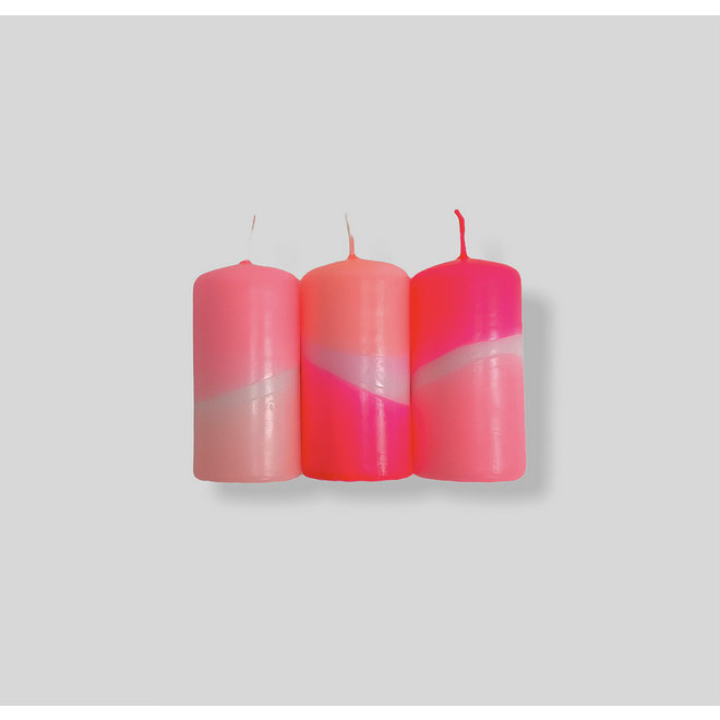 Dip Dye Neon - Flamingo Cookies