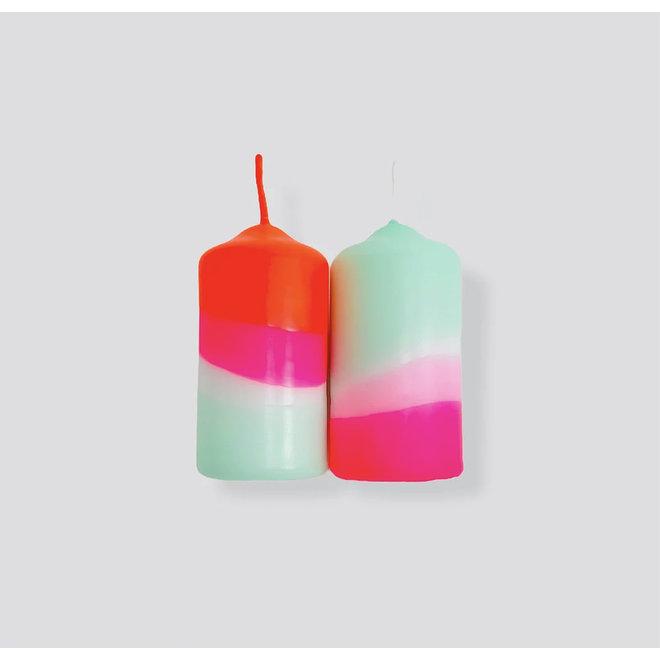 Dip Dye Neon - Peppermint Cherries