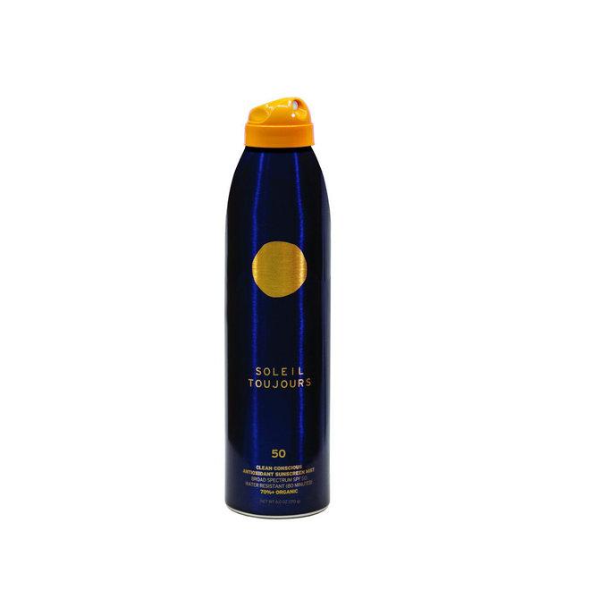 Clean Conscious Antioxidant Sunscreen Mist SPF 50