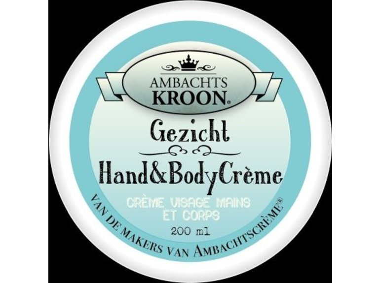 Ambachtskroon Gezicht, Hand & Body crème