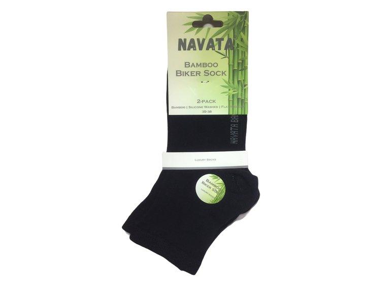 Navata Bamboo biker sock antrac. 2P 35-38