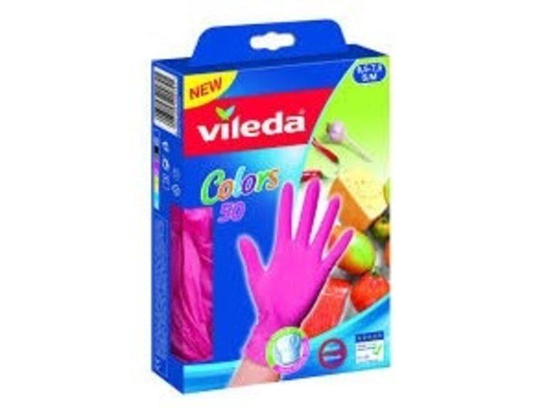 Vileda Handschoenen M/L Colors