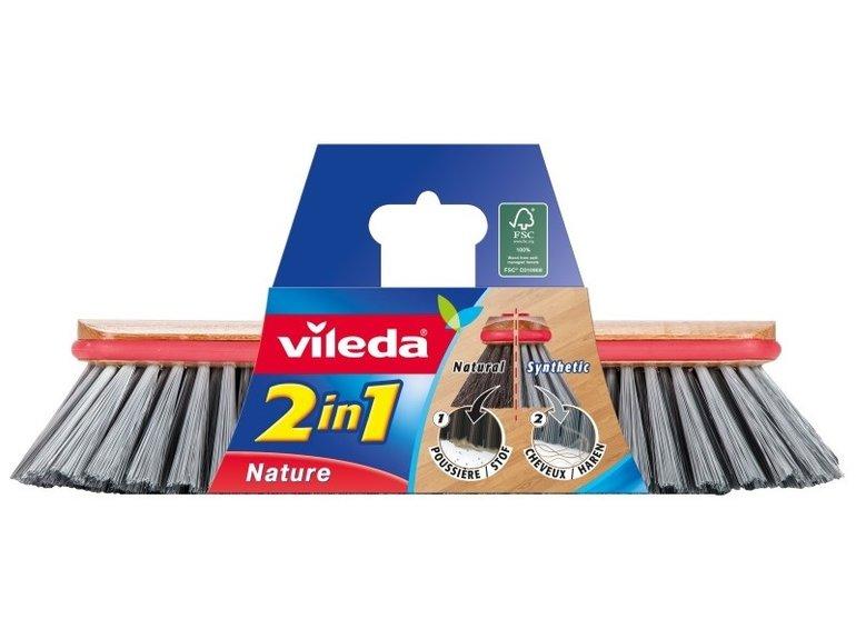 Vileda Binnenbezem mix natural/synthetisch