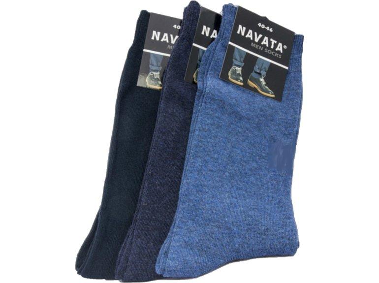 Navata Navata herensok 3P 40-46 mar/m-d jeans