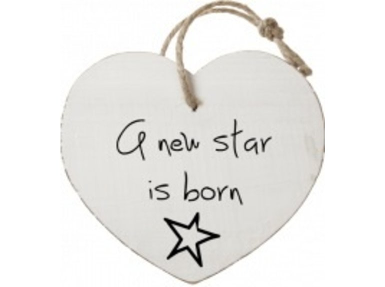 HW A new star is born